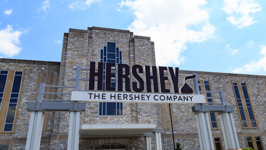 Hershey factory plant