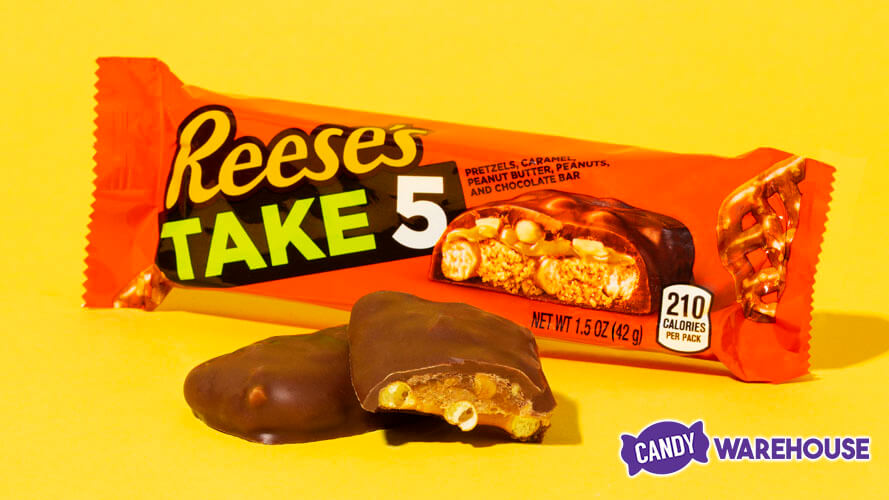 Hershey's Moves Take5 Brand Under Reese's